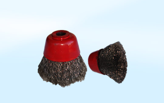 Cup Brush Metal Crimped